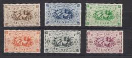 Reunion   France Libre  Série De Londres 6 Valeurs - Réunion (1852-1975)