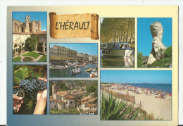 CPM CARTE POSTALE MODERNE - 34 - HERAULT - écrite  Timbrée 1998 - Frankreich