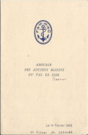Menu   De 1965 ST Pierre De Lorouer - Menus
