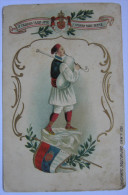 GAJDAS - Bagpiper - Bagpipe - Great Patriotic Card - Relief - Srbija Serbia SR07/05 - Serbia