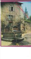 73.- ALBERTVILLE  .-  Cité De Conflans . L' Ancienne Fontaine Et L ' église - Albertville