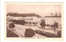 MALBUISSON - DOUBS - HOTEL DU LAC - TRAIN - TRAMWAY - Other Municipalities