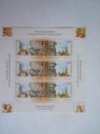 België Belgique Rusland Russie Russia 2003 Klokken Cloches Mechelen St Petersburg MNH ** Feuillet - Música