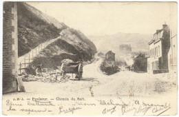 03034g CANTONNIER - CHEMIN Du SART - Poulseur - 1904 - Comblain-au-Pont