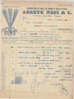 Italie, Tavola, Exportation Paille De Sorgho à Balais Arsete Nesi & Cie 1922 Voir Explications) - Italie