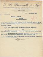 Italie, Prato, Paille Pour Balais G.B. Baroncelli & Figli 1934 (voir Explications) - Italie