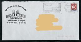 =IYU : PAP Euro - 76 - HAUTOT SAINT SULPICE.. La Ferme De La Porte De Fer. GAEC Eudier. ( Sans N°). Oblitéré. - Entiers Postaux