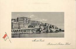 Depts Divers -  Ref M 830 -  Monaco - Monte Carlo - Balmoral Palace Hotl - Hotels -  Carte Bon Etat - - Hôtels