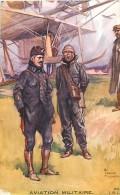 Guerre 1914-18- Ref K115- Illustrateur Charles Fouqueray -aviation Militaire -avions -aviateurs  - - Guerra 1914-18