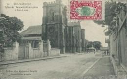 45Cat   Maurice Port Louis église De L'immaculée Conception (legende Fautée) - Mauritius