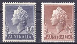 Australia 1955 Queen Elizabeth MNH  SG 282, 282d - 1952-65 Elizabeth II : Pre-Decimals