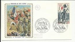 FDC , 1er Jour , 11.11.1972 , 0.60 F  , BONAPARTE Au Pont D' ARCOLE , 17 Novembre 1796 , PARIS , N°YT  1730 - FDC