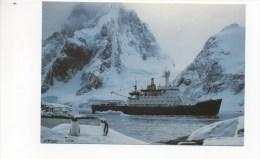 "R.R.S. "" BRANSFIELD "" At PETERMAN ISLAND (British Antarctic Survey) - Unclassified"