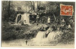LUCON. -   La Cascade Du Jardin Public. Belle Animation - Lucon