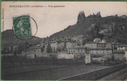07 ROCHEMAURE - Vue Générale - Rochemaure