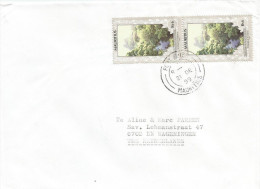 Mauritius Maurice 1999 Port Louis Environmental Protection Stream Scenery Cover - Mauritius (1968-...)