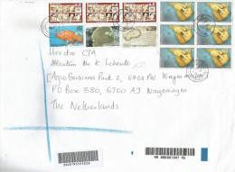 Mauritius Maurice 2010 Solferino History Rodrigues Island Capture Ile De La Passe Coral Fish Barcoded Registered Cover - Mauritius (1968-...)