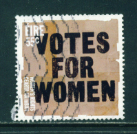 IRELAND  -  2011  Votes For Women  55c  Used As Scan - 1949-... Republic Of Ireland
