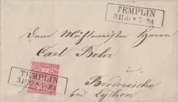 NDP Brief EF Minr.4 Templin 3.11.70 - Norddeutscher Postbezirk