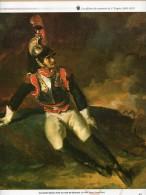 Illustration : OFFICIERS I° EMPIRE 1804-1815 : CUIRASSIER BLESSE. HUILE SUR TOILE DE GERICAULT. - Alte Papiere