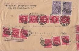 DR Brief Mif Minr.2x 255, 35x 269 Berlin 19.9.23 - Briefe U. Dokumente