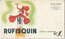 Huiles De Table/ Rufisquin/L´huile D´Arachide N°1/ Desmarais Fréres / Vers 1945-1955        BUV113 - Food