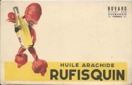 Huiles De Table/ Rufisquin/L´huile D´Arachide N°1/ Desmarais Fréres / Vers 1945-1955    BUV114 - Food