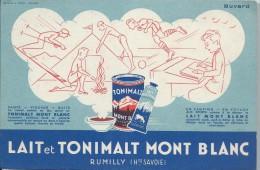 Lait Et Tonimalt Mont Blanc / Rumilly / Haute Savboie  / Vers 1945-1955    BUV115 - Produits Laitiers