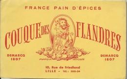 France Pain D´Epices/ Couque Des Flandres/ Demarcq /Lille / Vers 1945-1955    BUV116 - Pain D'épices