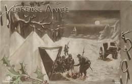 Guerre 1914-18- Ref K07- Heureuse Année 1915  - Carte Bon Etat - - Guerre 1914-18