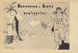 $3- 3057- Illustratore Gentilezza - Madonnina Di Sirte.... Africa - F.g. - Non Vg, - Guerra 1939-45