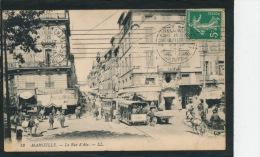 MARSEILLE - La Rue D'Aix (animation Tramway) - Marseilles