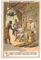 CHROMO  - CHOCOLAT LOMBART - 1891 - Mission Scientifique Au Soudan - Lombart