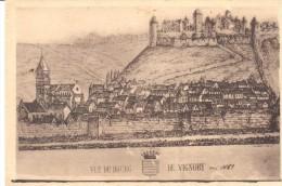 POSTAL    VIGNORY  - FRANCIA -   VISTA DE LA VILLA  DE VIGNORY - Chaumont