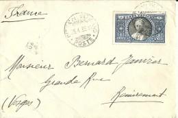 Lettre Pour La France 1935 - Lettres & Documents