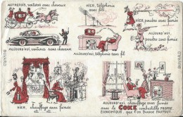 Charbon/Chauffage Sans Fumée Avec Le COKE/ Combustible Propre Et économique /Vers 1945-1955    BUV131 - Blotters