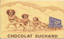 Chocolat SUCHARD /milka Au Lait /Vers 1945-1955    BUV127 - Chocolat