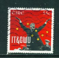 IRELAND  -  2009  Trade Union  55c  Used As Scan - 1949-... Repubblica D'Irlanda