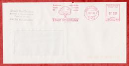 Brief, Hasler C67-202D, Stadt Heilbronn Radfahren.., 100 Pfg, 1996 (53876) - [7] Repubblica Federale