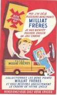 Pâtes / Pâtes Milliat Fréres / Collectionnez Les Bons Points  / /Vers 1945-1955    BUV134 - Buvards, Protège-cahiers Illustrés