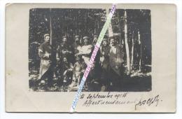 14/18 : CARTE PHOTO 37e RIT ( AUXERRE ) / SOUS-OFFICIERS / SEPTEMBRE 1914 / 37e REGIMENT D´ INFANTERIE TERRITORIALE - Guerre, Militaire
