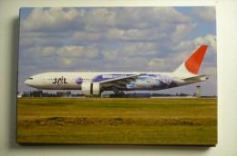 JAL  ONE WORLD   B 777JA704J       COLLECTION VILAIN N° 825 - 1946-....: Moderne