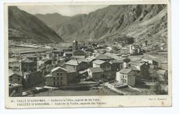 YON@ CPSM ANDORRA LA VELLA, CAPITAL DE LES VALLS, ANDORRE LA VIEILLE, CAPITALE DES VALLEES - Andorre