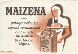 Maïzena/Pour Potages Veloutés  /Vers 1945-1955    BUV136 - Potages & Sauces