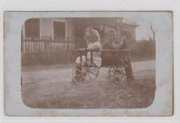 AK - Kinder Im Leiterwagen 1918 - Szenen & Landschaften