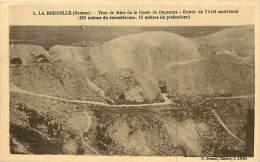 Guerre 1914-18- Ref H880- La Boisselle - Somme - Trou De Mine De La Route De Bapaume  -carte Bon Etat  - - Guerre 1914-18