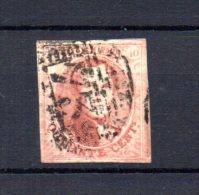 Médaillons, N° 8, Ø 73 (Liège), 3 Voisins, Cote 125 €, - 1851-1857 Medallions (6/8)