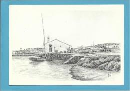 O MOINHO De MARÉ Da PALMEIRA - Watermill - RIA FORMOSA - ALGARVE - Portugal - 2 SCANS - Molinos De Agua