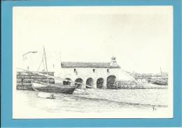 O MOINHO De MARÉ Do SOBRADO - Watermill - RIA FORMOSA - ALGARVE - Portugal - 2 SCANS - Molinos De Agua