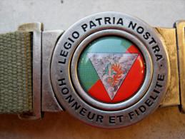 CEINTURE LEGION ETRANGERE PARACHUTISTE 2� REP LA CCL NEUVE